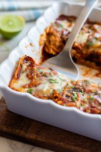 Tips for Vegetarian Enchilada Casserole