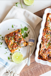 Vegetarian Enchilada Casserole Recipe