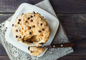 Chocolate Chip Mug Cookie - 5 Classic Dessert Recipes to Make in the Microwave