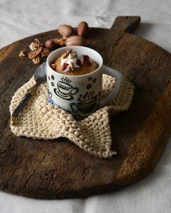 Keto Carrot Mug Cake - 5 Classic Dessert Recipes to Make in the Microwave