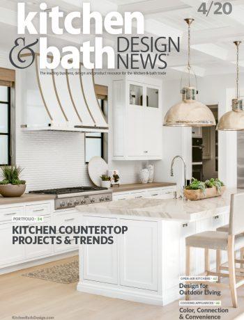 Kitchen and Bath Design News magazine cover.