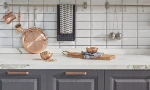 Subway tile backsplash for your kitchen sink