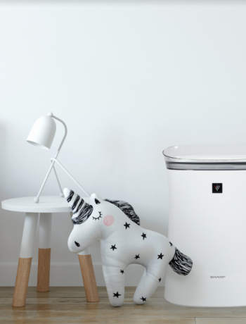 air purifier in bedroom