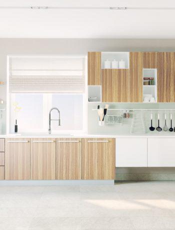 Trendy and organized kitchen range