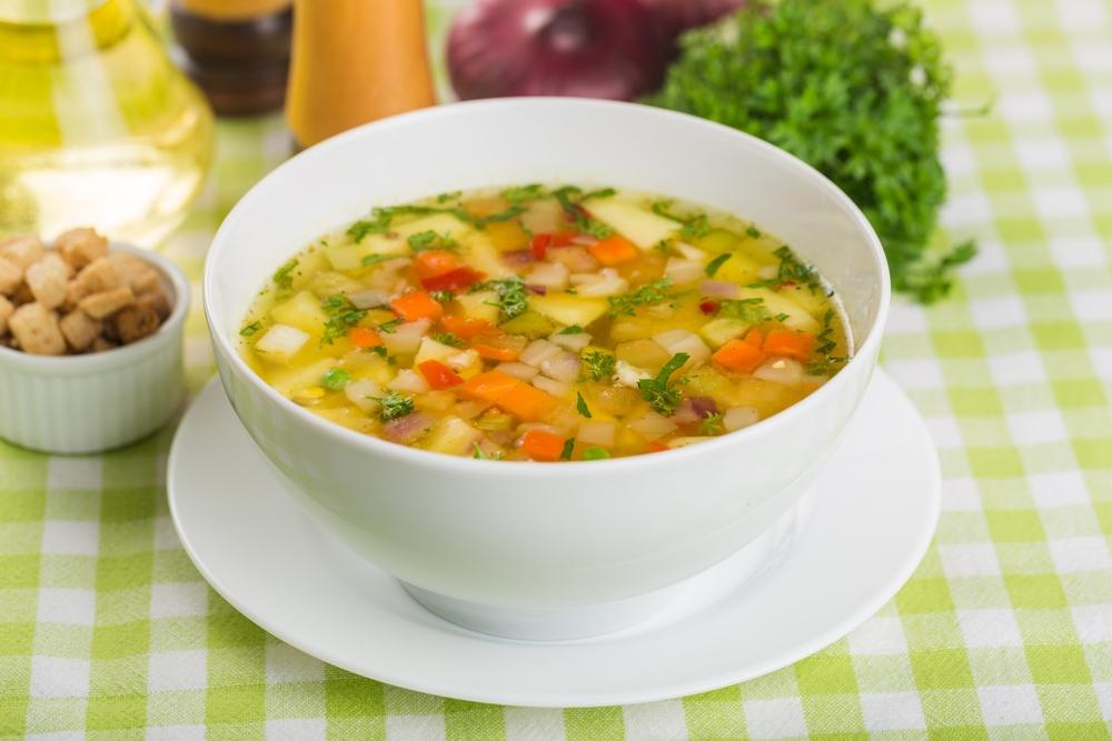 Natural soup recipe.
