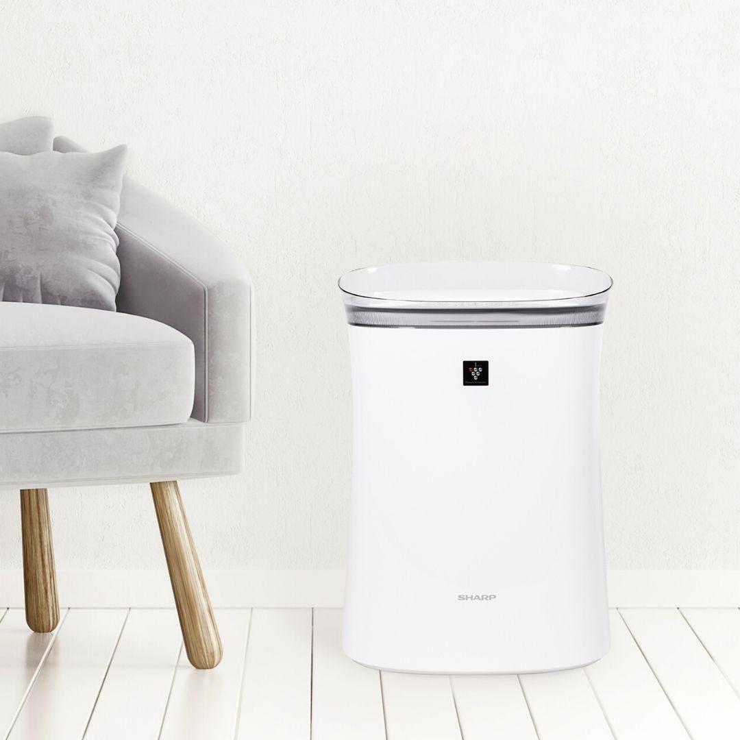 Air purifier in clean room
