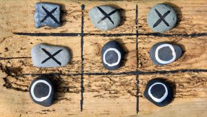 Do it yourself tic tac toe.