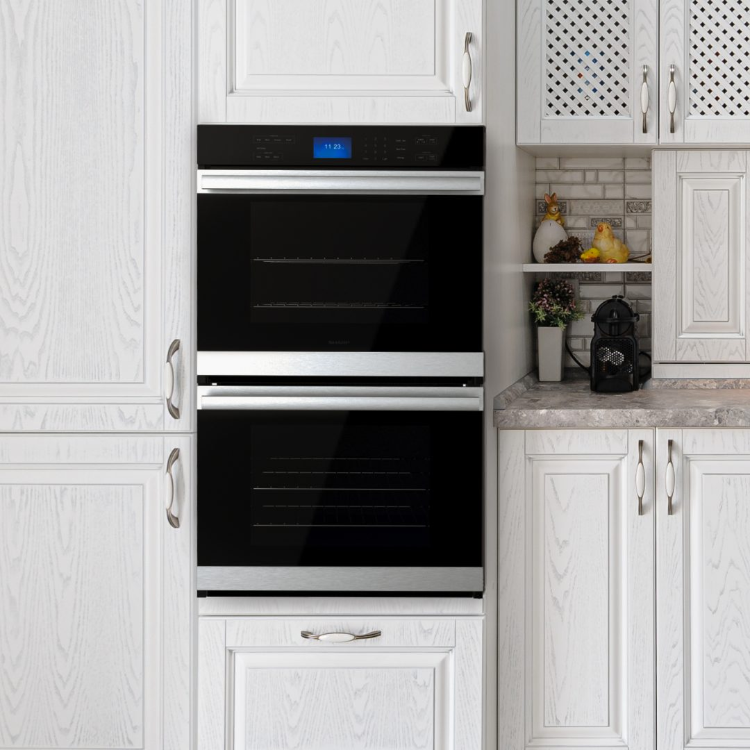 Sharp double wall oven
