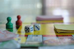 board game on table