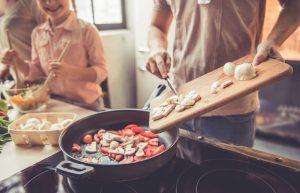 cooking indoors