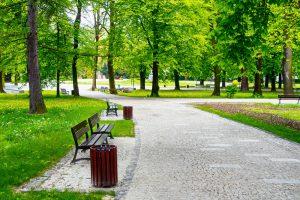 park outdoors