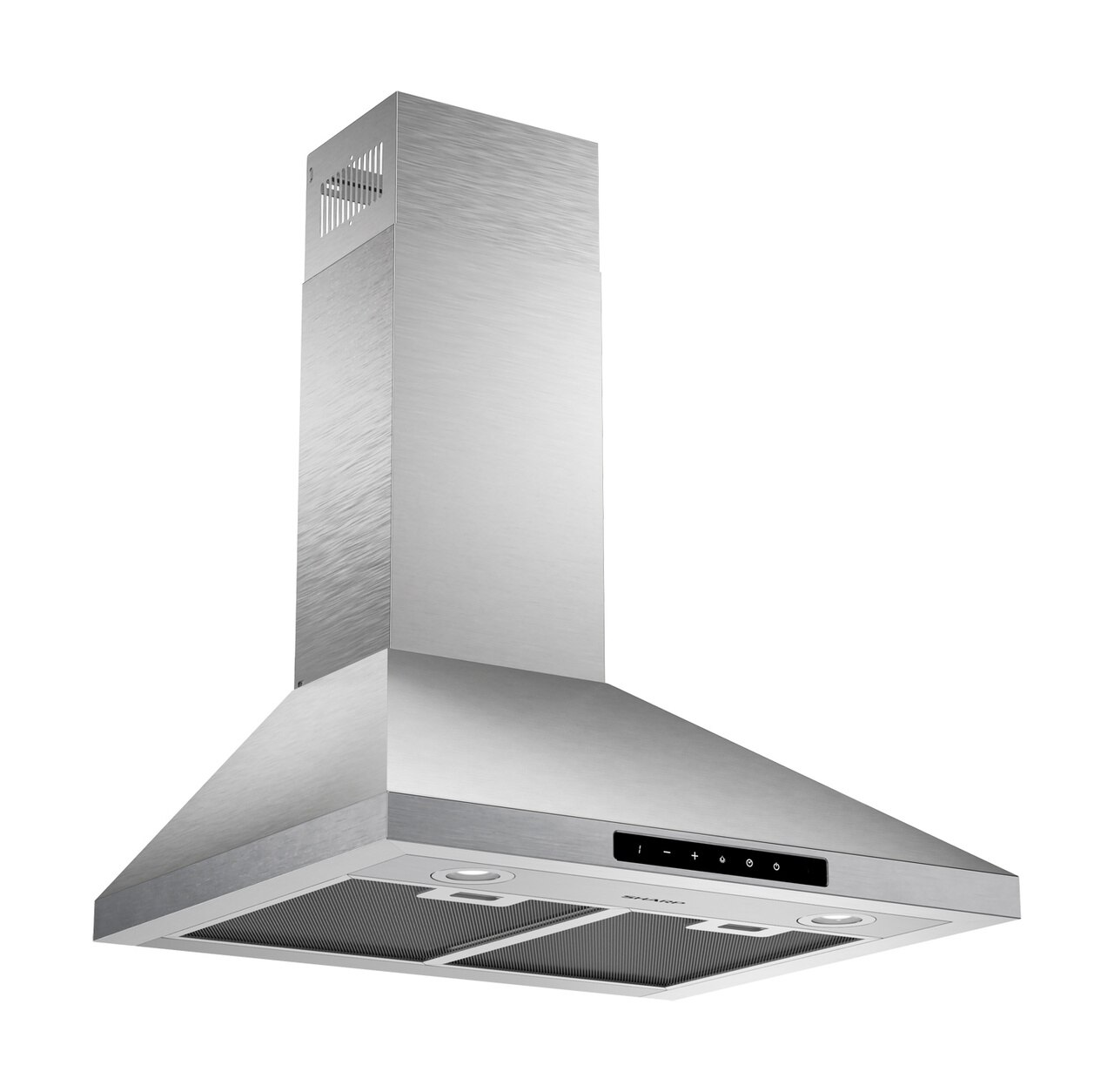 "24"" Wall Mount Chimney Range Hood (SHC2432FS) - right angle view"