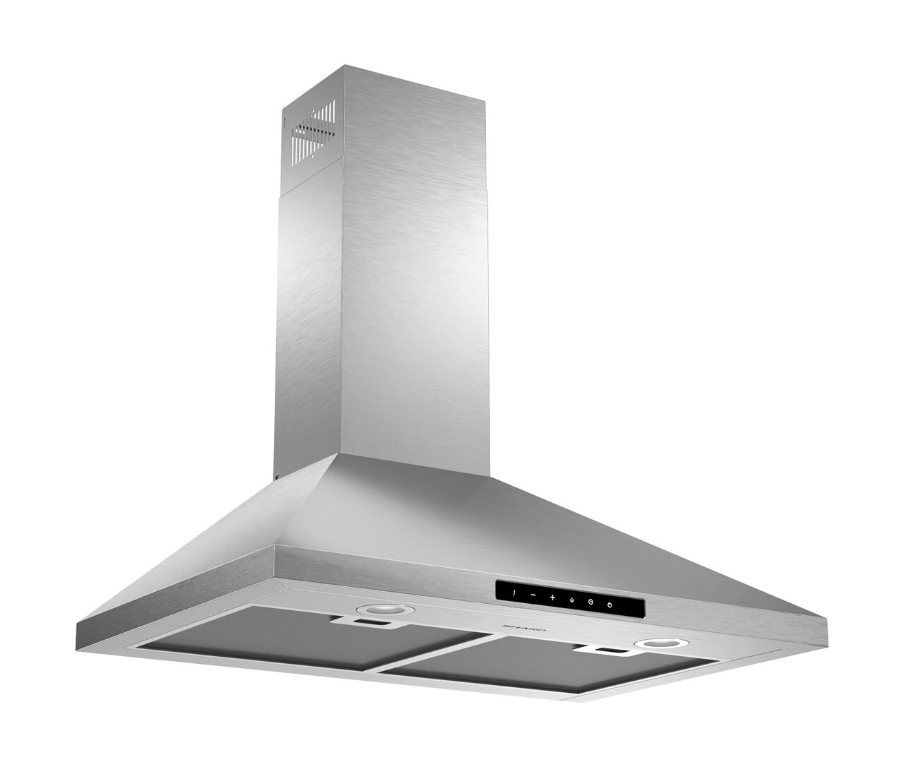 "3-Speed 30"" Wall Mount Chimney Range Hood (SHC3042FS) - right angle view"