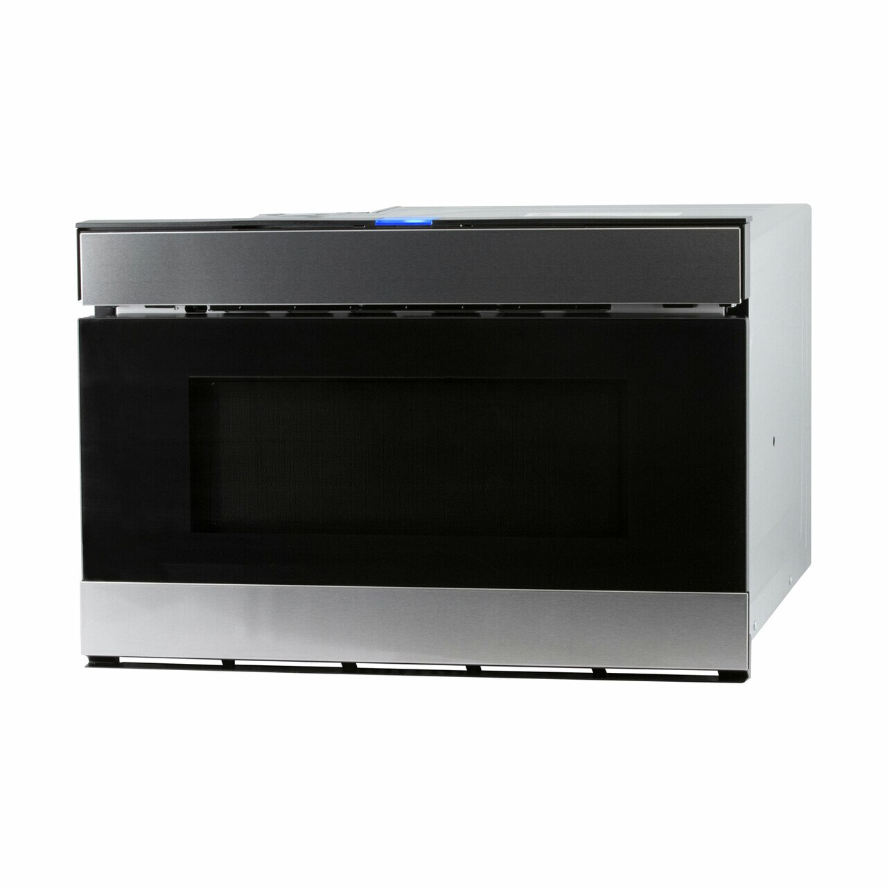 Sharp Easy Wave Open Microwave Drawer (SMD2480CS) – right angle view
