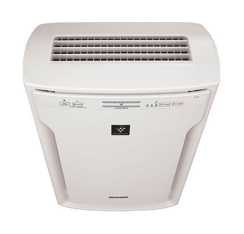 Sharp HEPA Air Purifier with Plasmacluster® Ion Technology for ExtraLarge Rooms (FPA80UW) – top view
