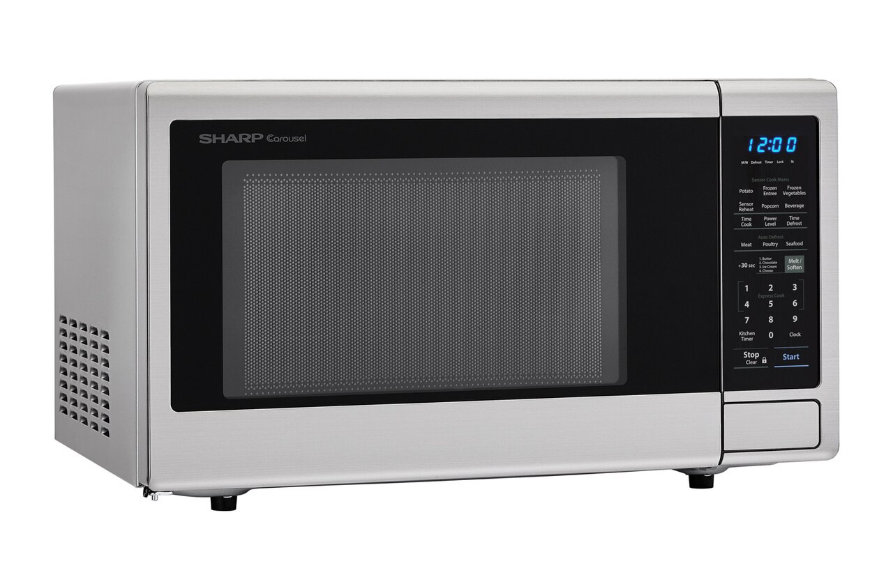 2.2 cu. ft. Stainless Steel Countertop Microwave (SMC2242DS) – right angle view