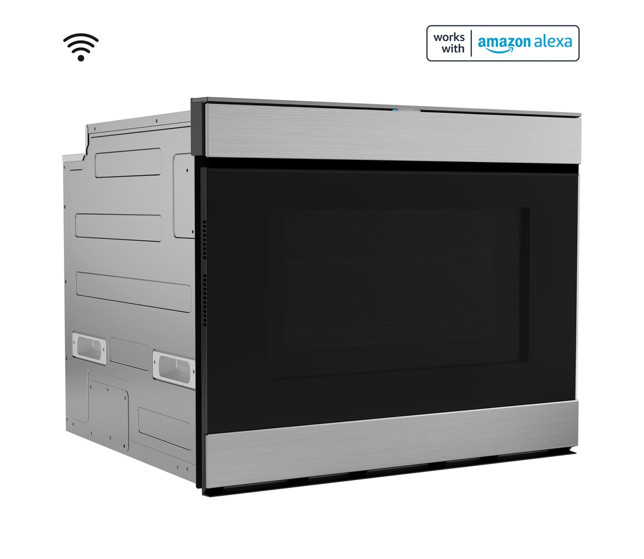 """24"""" Built-In Smart Convection Microwave Drawer Oven (SMD2499FS) Right"""