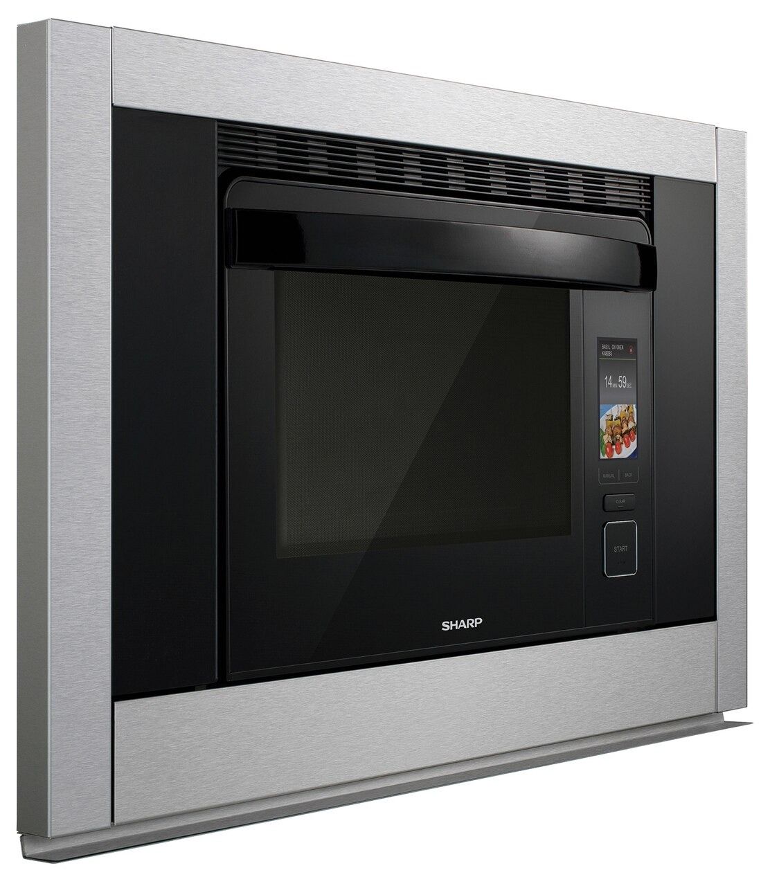 1.1 cu. ft. Supersteam+ Superheated Steam and Convection Built-in Wall Oven (SSC3088AS) – right side view