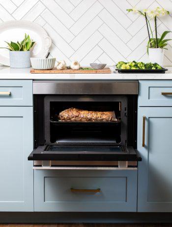 roast beef in Sharp SuperSteam+ wall oven