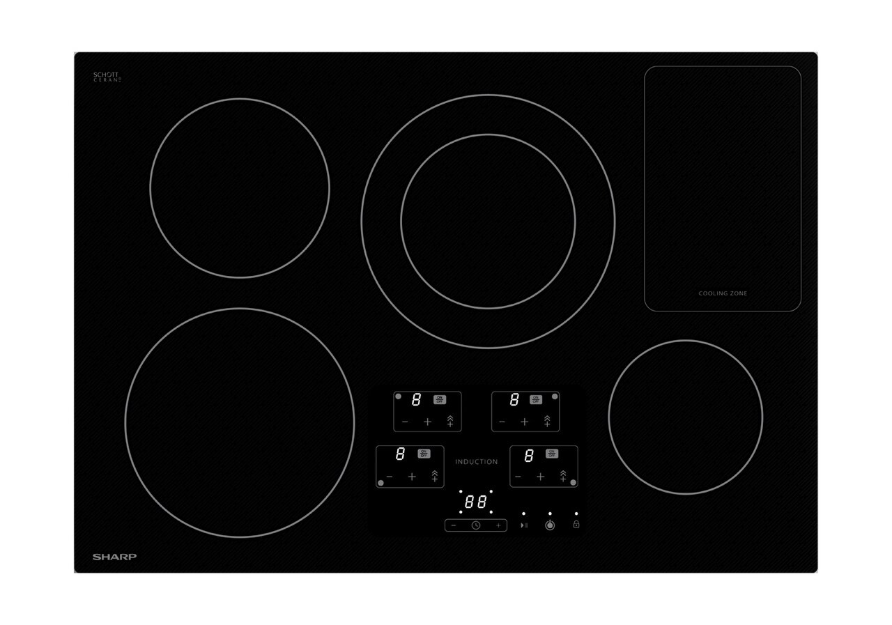 30-Inch Width Cooktop, European Black Mirror Finish Made with Premium Schott® Glass (SDH3042DB)