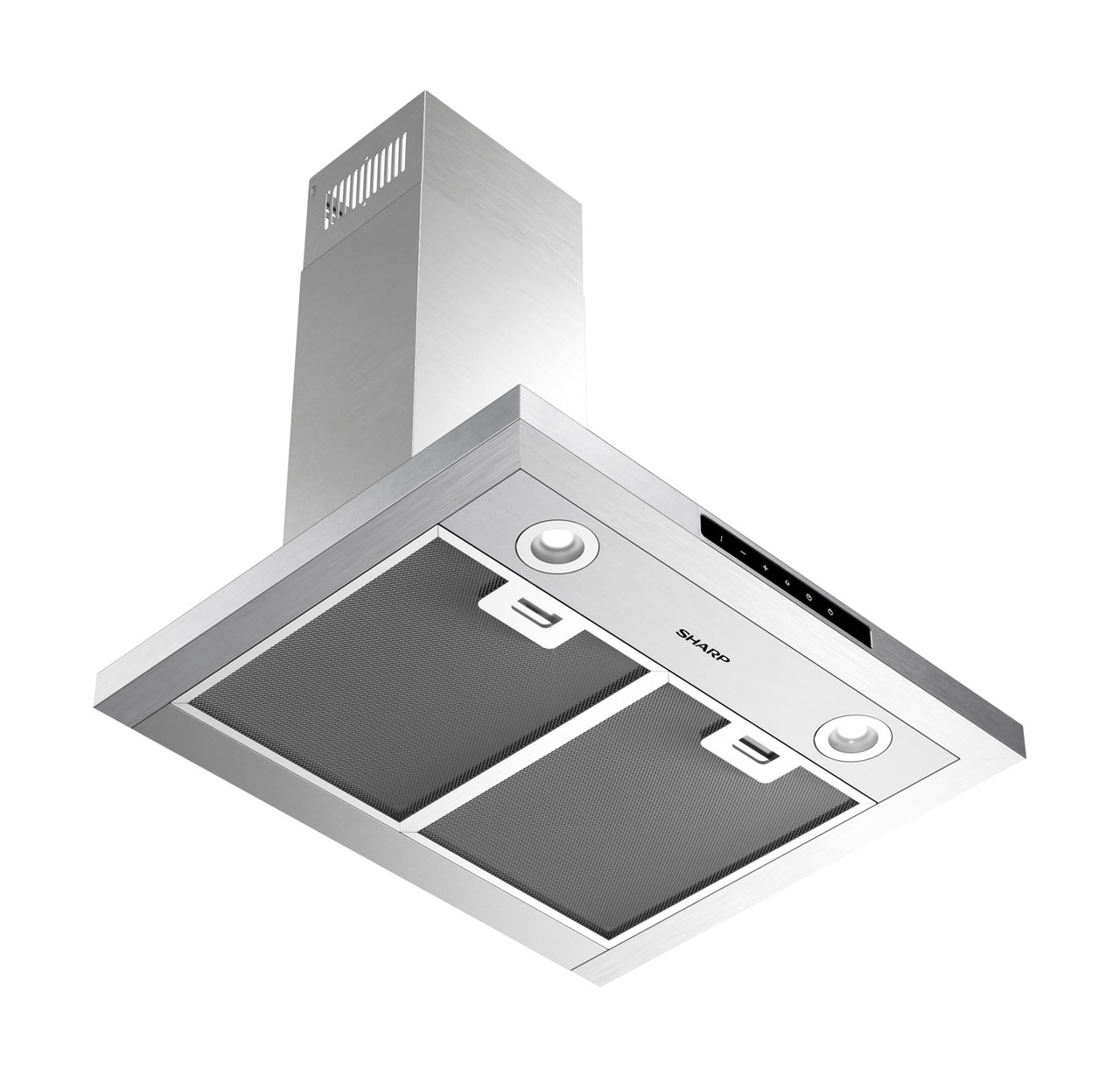 "24"" Wall Mount Chimney Range Hood (SHC2432FS) - ventilation view"