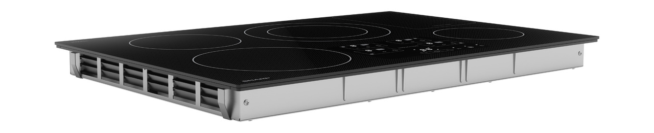 30-Inch Black Cooktop (SDH3042DB) – side view