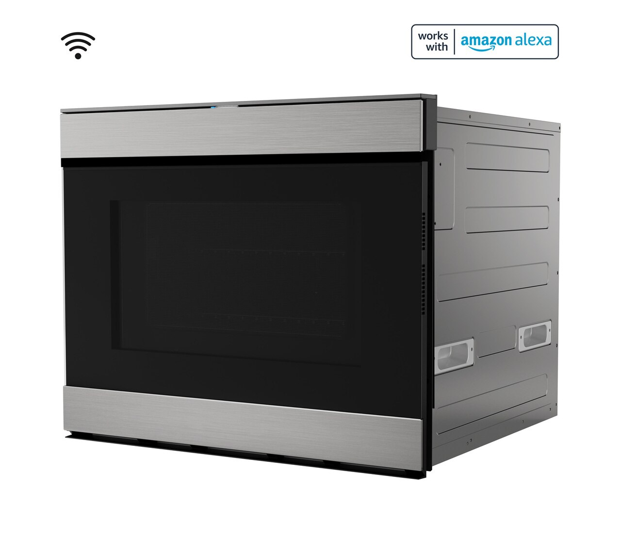"""24"""" Built-In Smart Convection Microwave Drawer Oven (SMD2499FS) Left"""