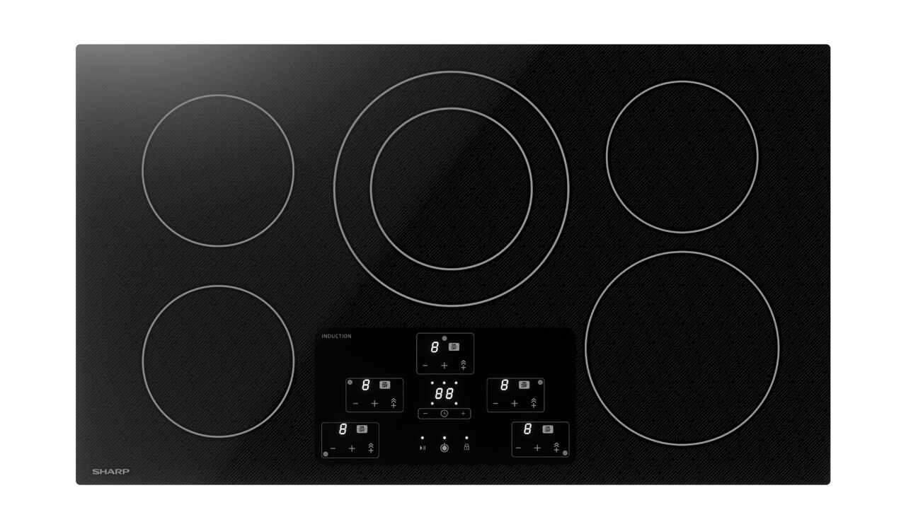 "36"" Width Cooktop, European Black Mirror Finish Made with Premium Schott® Glass (SDH3652DB)"
