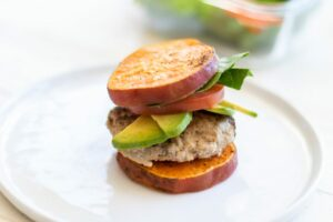 Sweet Potato Turkey Burgers