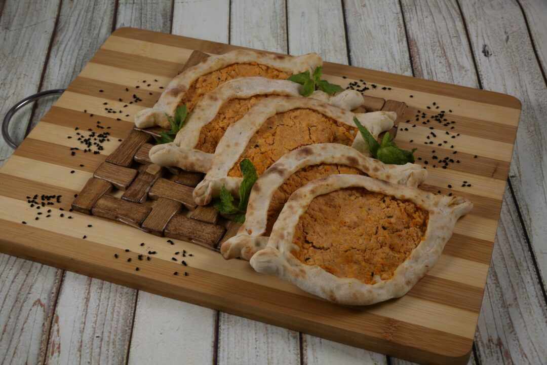 chicken recipe on a cutting board