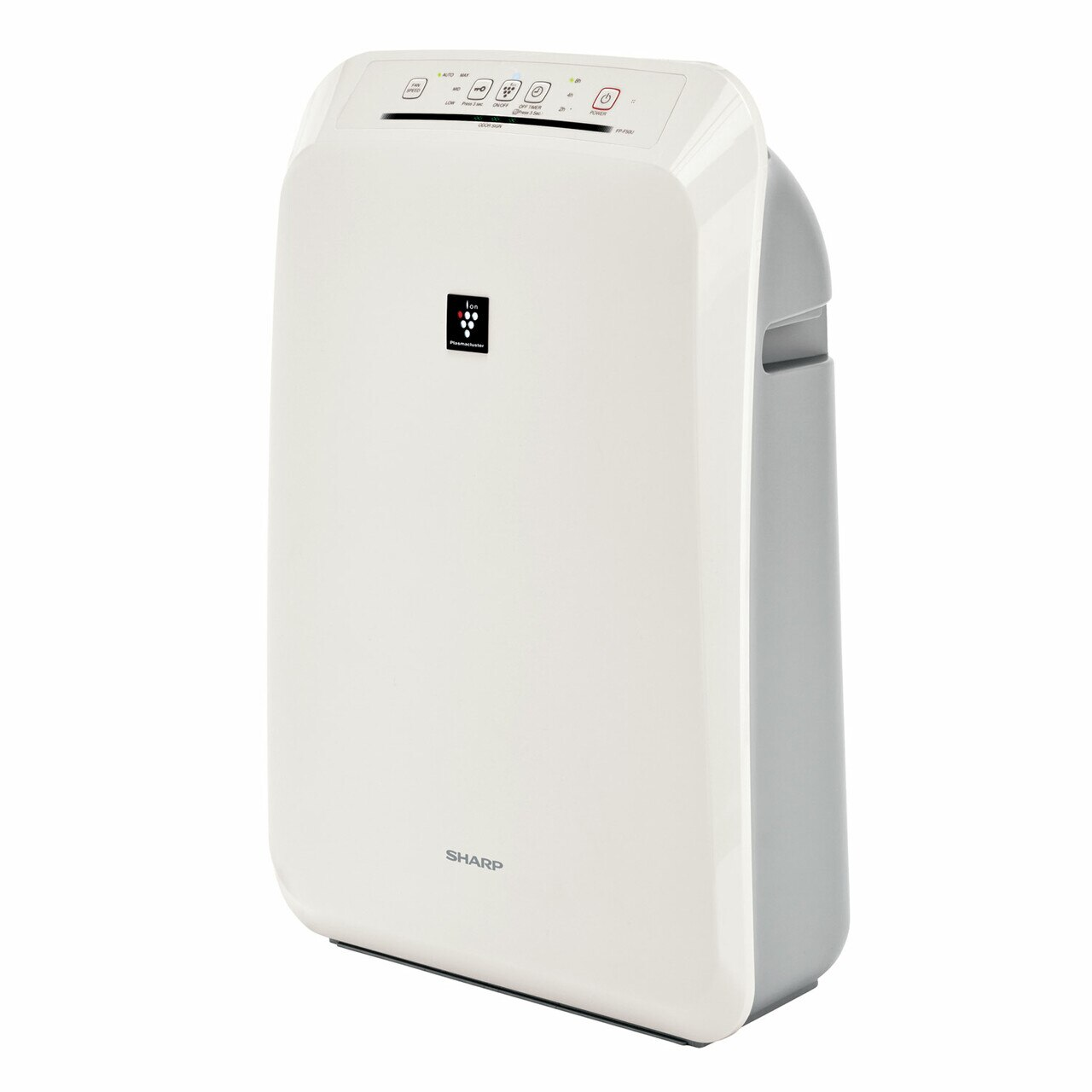 Sharp FPF50UW HEPA Air Purifier with Plasmacluster® Ion Technology – left angle view