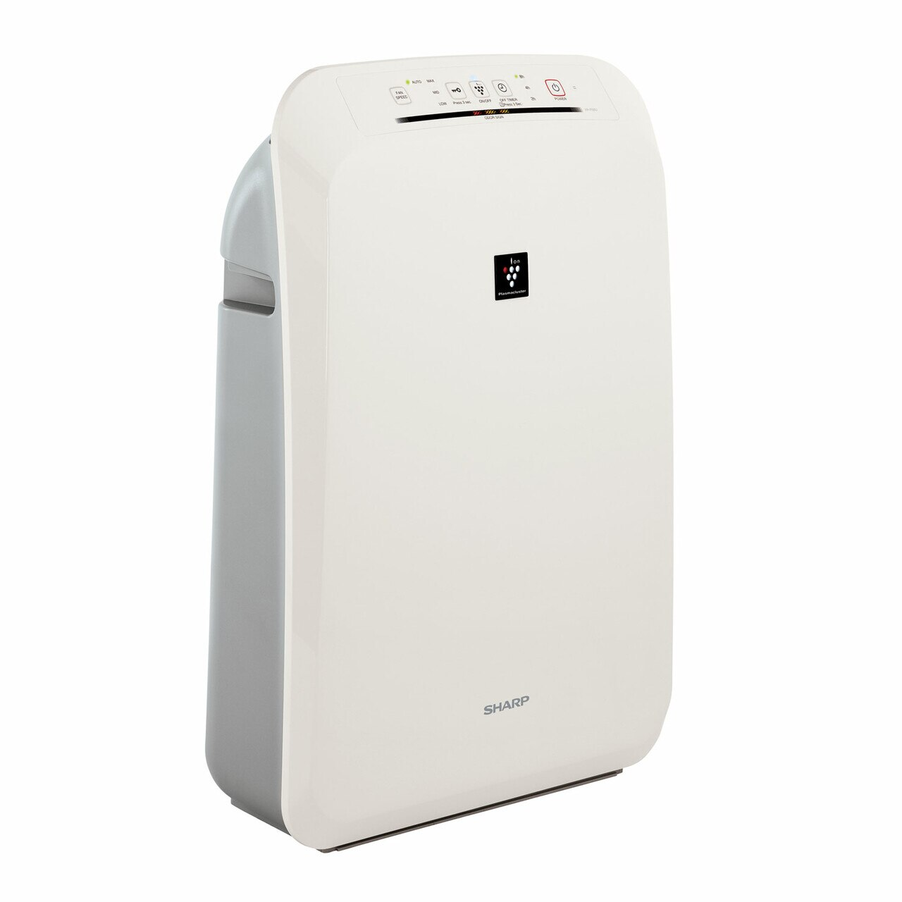 Sharp FPF50UW HEPA Air Purifier with Plasmacluster® Ion Technology – right angle view
