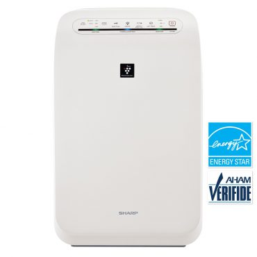 Sharp HEPA Air Purifier with Plasmacluster® Ion Technology for Medium Rooms (FPF60UW)