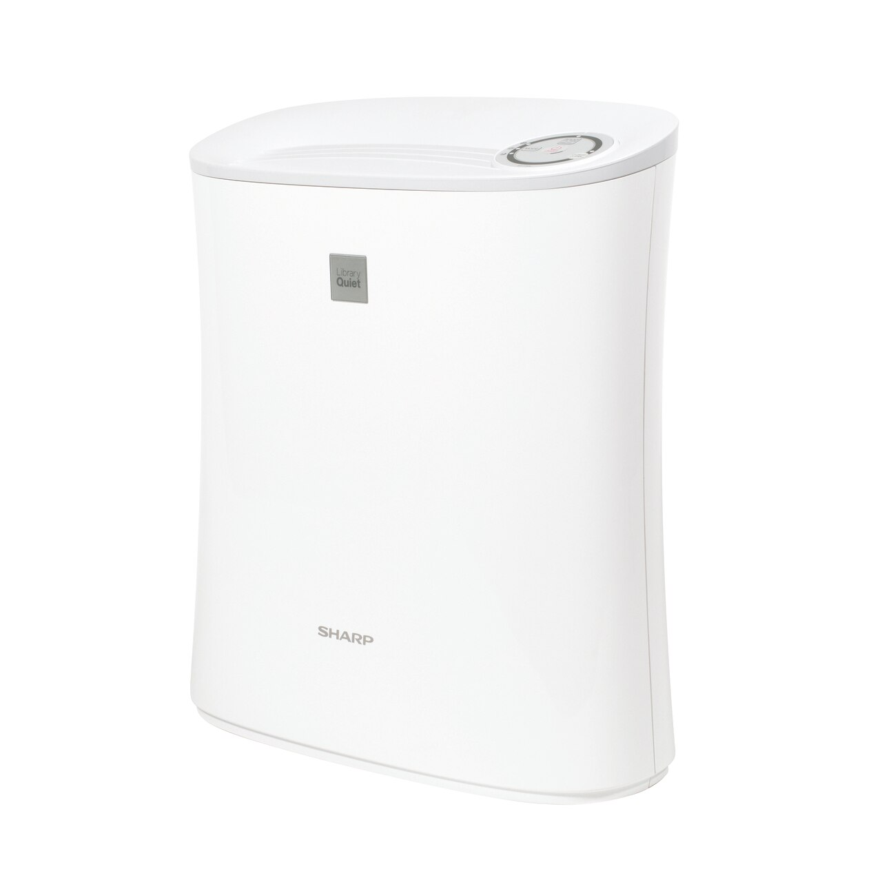 Sharp Small Room Air Purifier with True HEPA Filtration (FPF30UH) – left side view