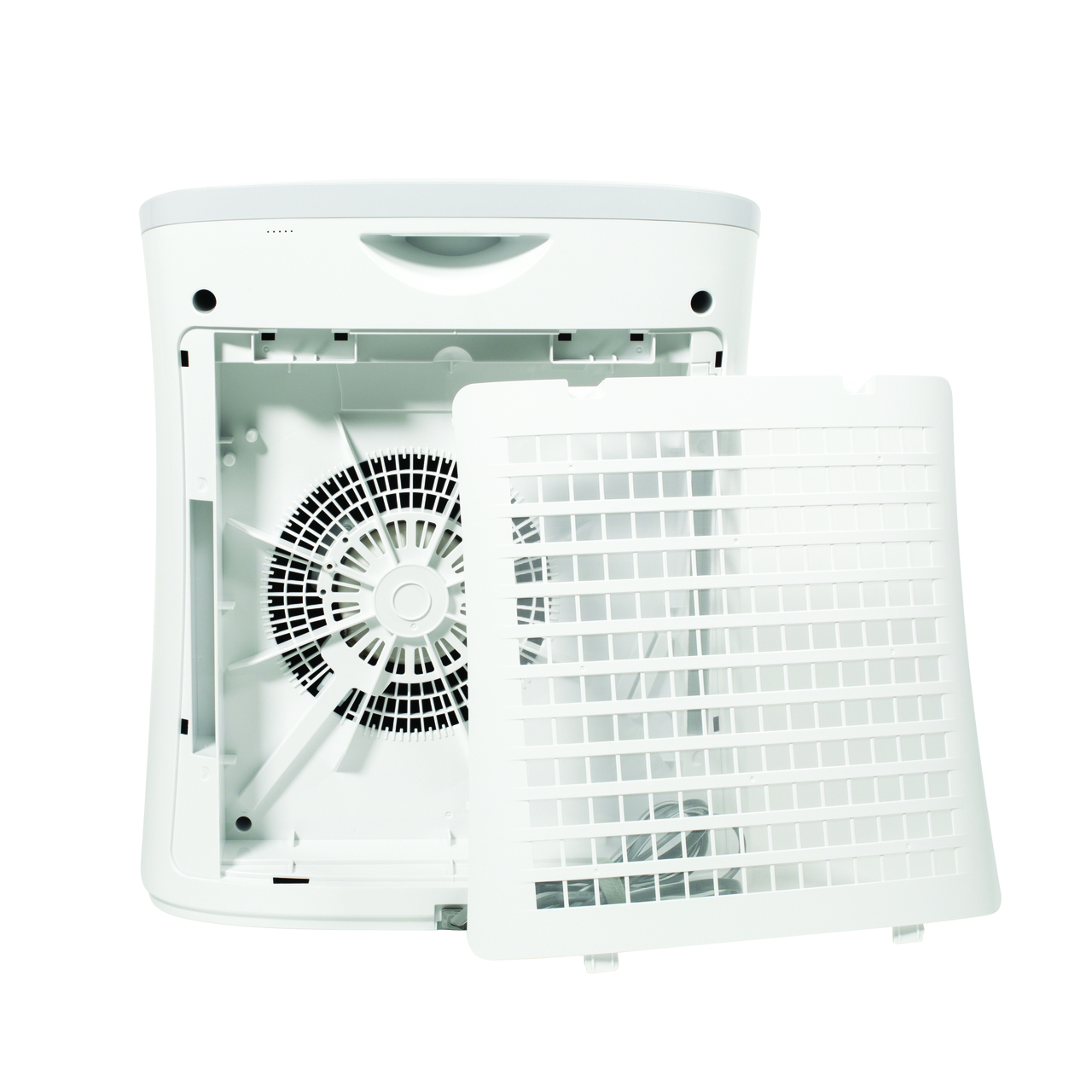 Sharp Small Room True HEPA Air Purifier (FPF30UH) – back view of fan