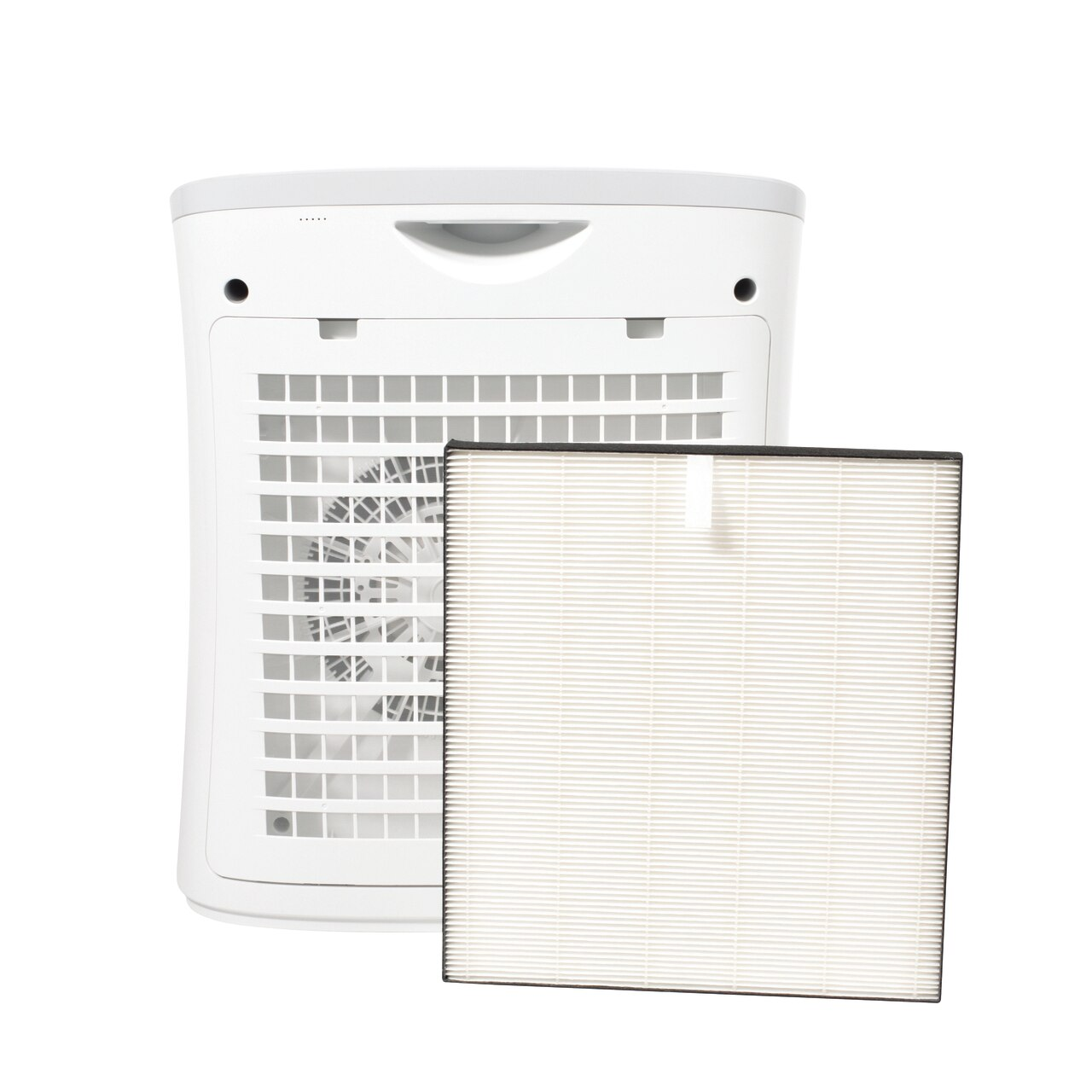 Sharp Small Room True HEPA Air Purifier (FPF30UH) – back view with True HEPA filter