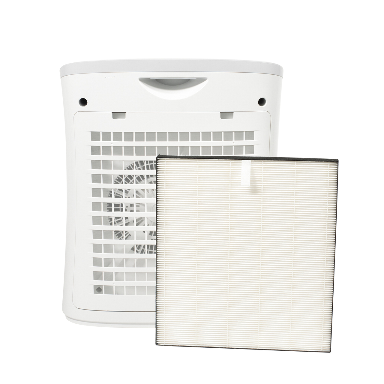 View of Sharp FPF30UH Air Purifier with FZF30HFU True HEPA Replacement Filter