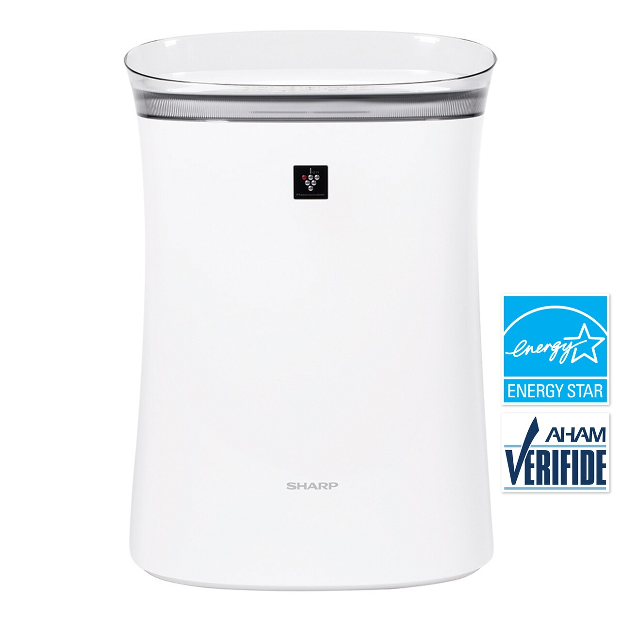 Sharp True HEPA Air Purifier with Plasmacluster® Ion Technology for Medium-Sized Rooms (FPK50UW)