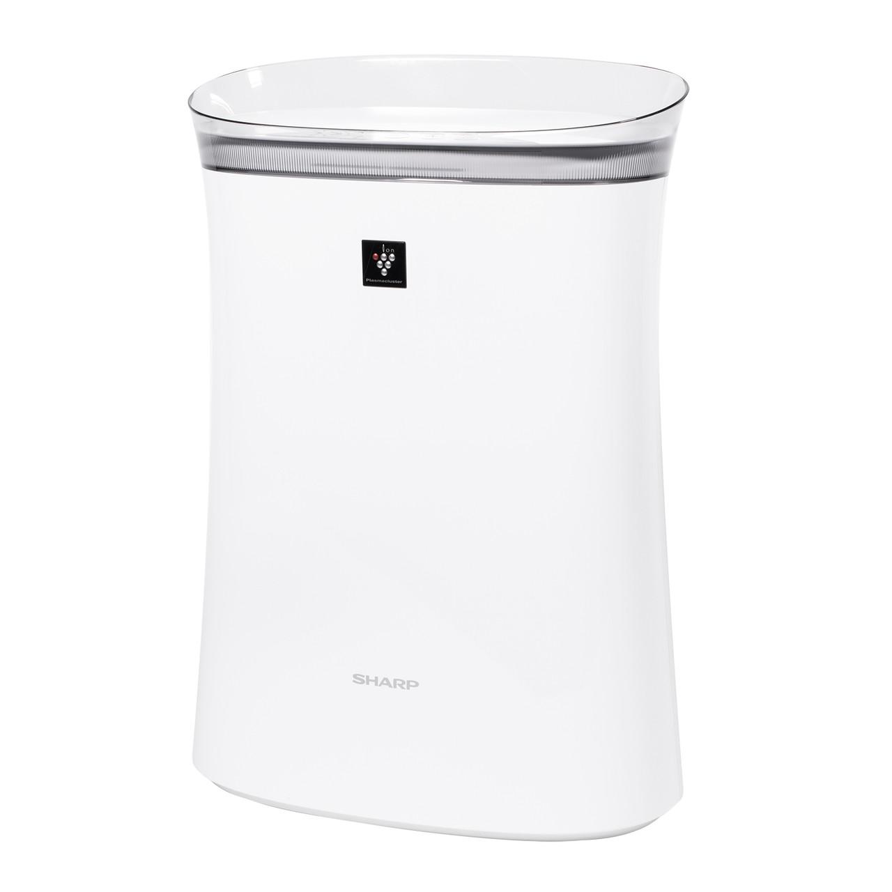 Sharp True HEPA Air Purifier for Medium-Sized Rooms (FPK50UW) – left side view