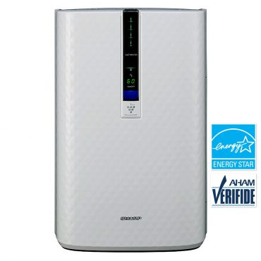 Sharp Plasmacluster® Air Purifier with Humidifying Function for Medium Rooms (KC850U)