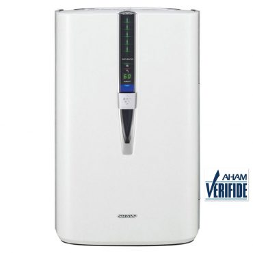 Sharp Plasmacluster® Air Purifier with Humidifying Function for Large Rooms (KC860U)- Front View