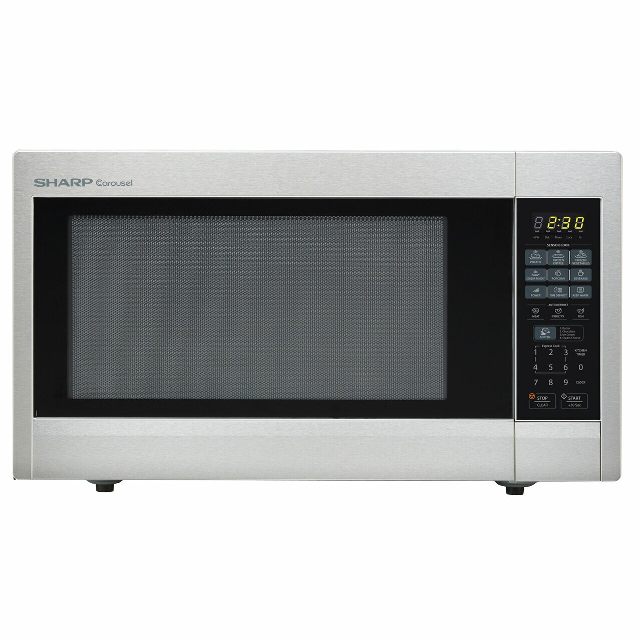 2.2 cu. ft. Stainless Steel Countertop Microwave (R651ZS)