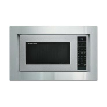 "Sharp 30"" Built-in Trim Kit (RK94S30) on SMC1585BS Microwave"