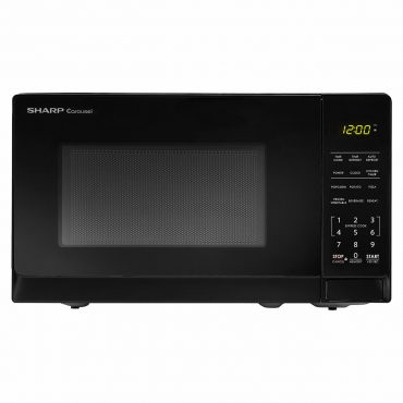 0.7 cu. ft. Sharp Black Countertop Microwave (SMC0710BB)