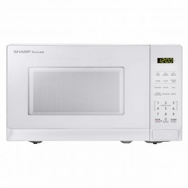 0.7 cu. ft. Sharp White Countertop Microwave (SMC0710BW)