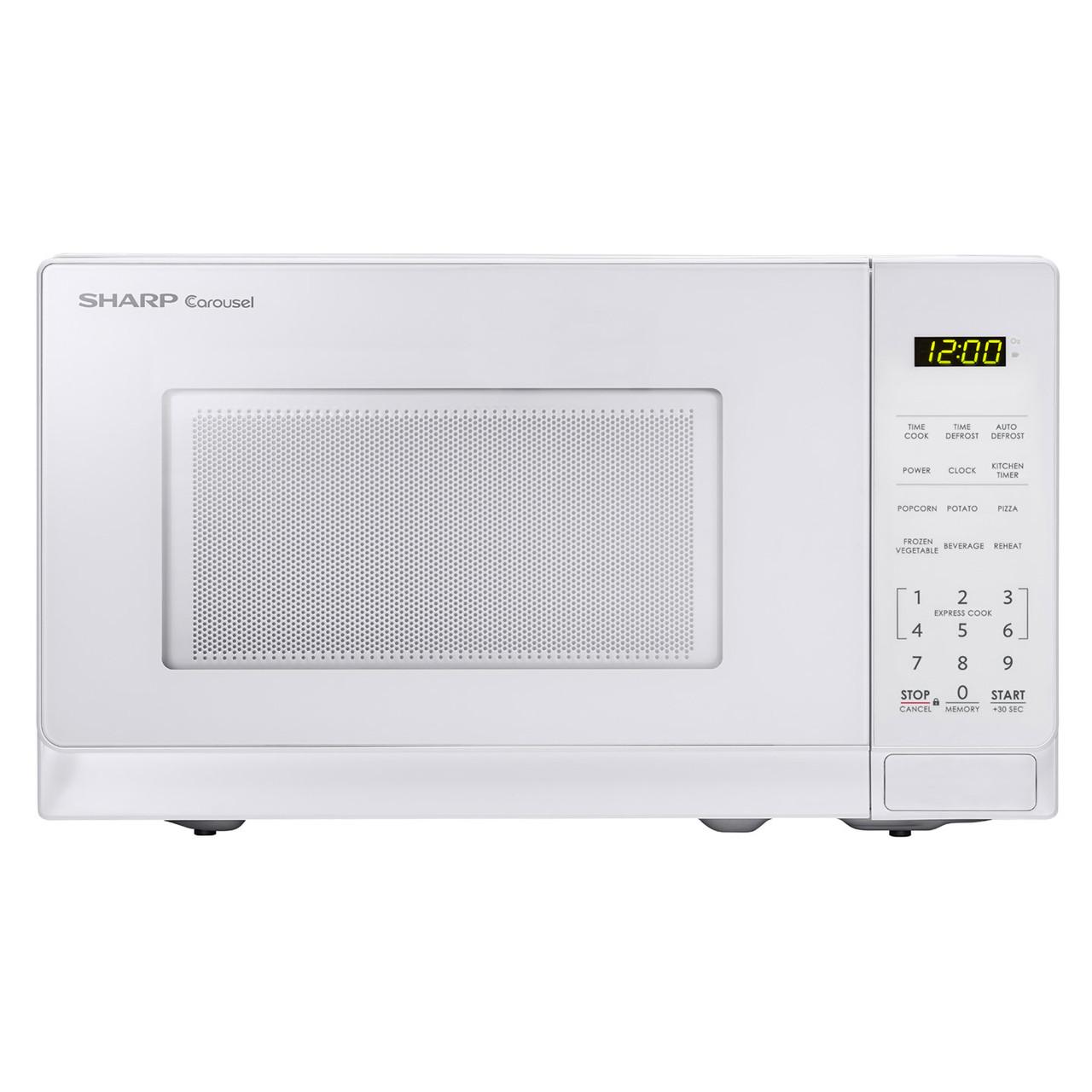 0.7 cu. ft. Sharp White Countertop Microwave (SMC0710BW)