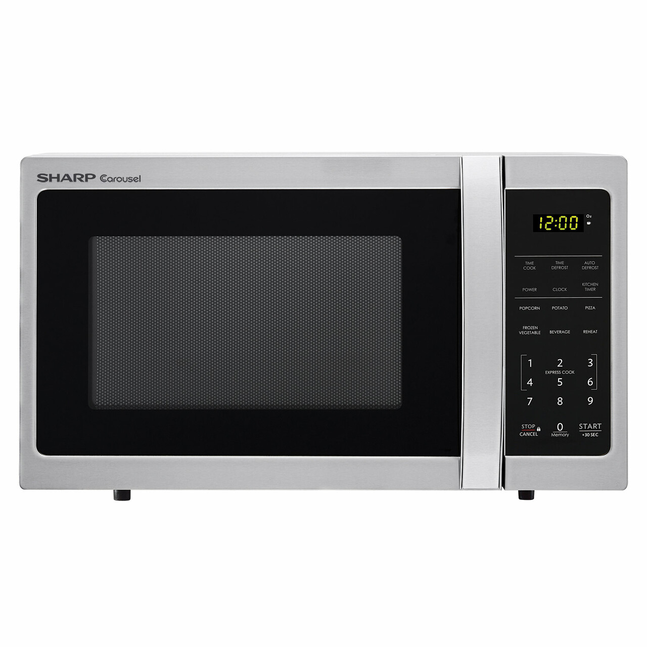 0.7 cu. ft. Sharp Stainless Steel Countertop Microwave (SMC0711BS)