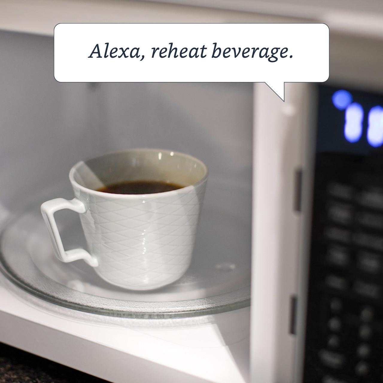 1.1 cu. ft. Sharp Stainless Steel Smart Microwave (SMC1139FS) –Alexa Reheat Beverage Command