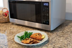 Auto defrost of Sharp Smart Microwave