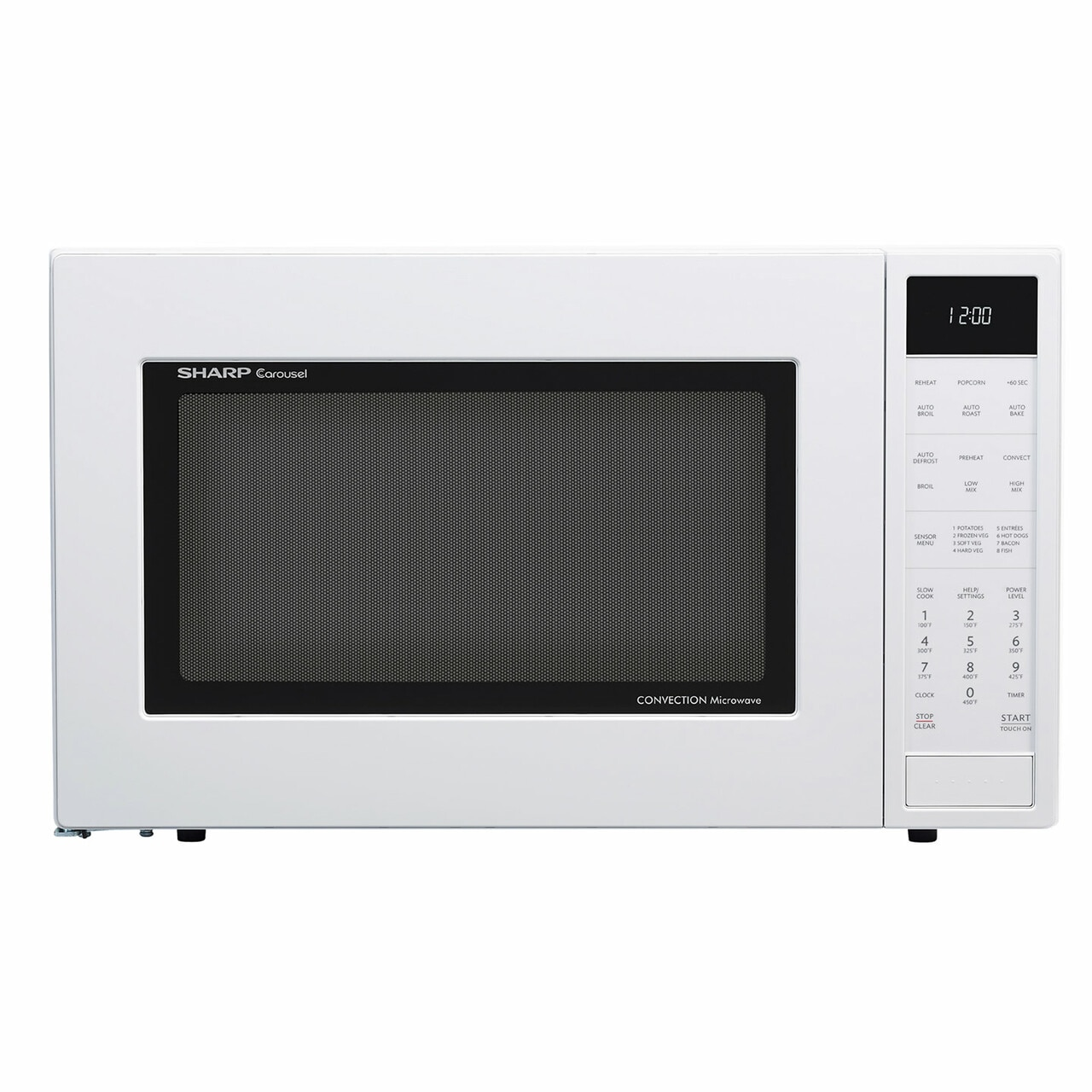 1.5 cu. ft. Sharp White Carousel Convection Microwave (SMC1585BW)
